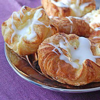 wienerbröd recept med vaniljkräm